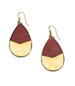 Tara Stone Teardrop Earrings - Matr Boomie (Jewelry) - Urban Hollywood | UrbanHollywood.com