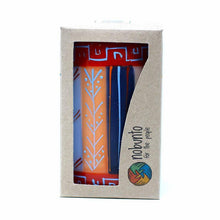 Load image into Gallery viewer, Hand Painted Candles in Uzushi Design (pillar) - Nobunto - Urban Hollywood | UrbanHollywood.com
