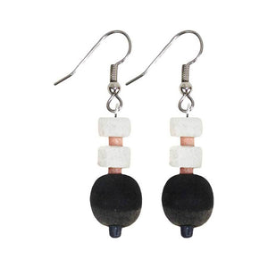 Kalahari Earrings - Neutral - Global Mamas (Jewelry) - Urban Hollywood | UrbanHollywood.com