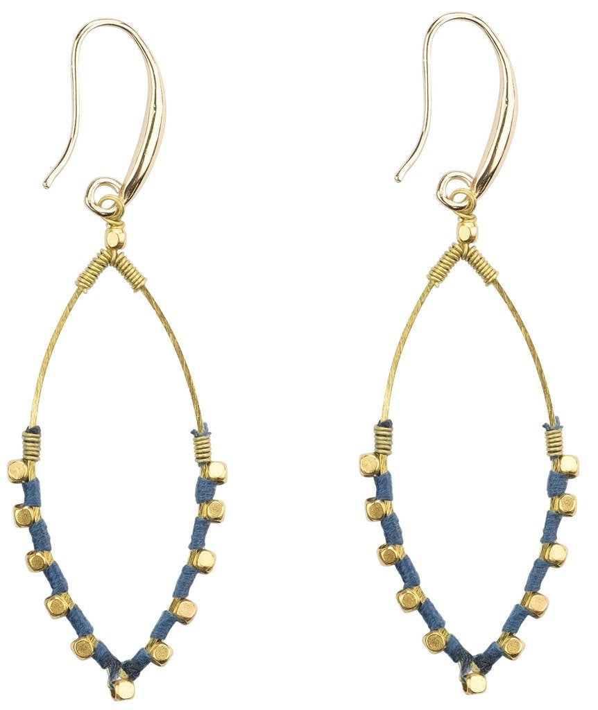 Earrings: Jane Oceana - Marquet (J) - Urban Hollywood | UrbanHollywood.com
