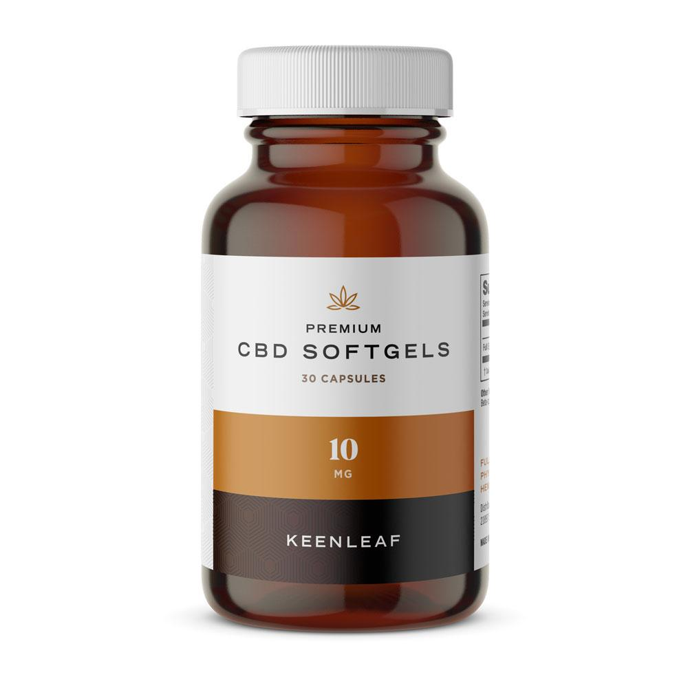 Premium CBD Softgels - 10mg
