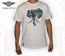 Load image into Gallery viewer, Trunk Insert Crewneck Tee in Cream