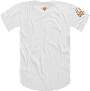 47 B Wing Insert Short Sleeve Tee- White