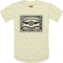 Load image into Gallery viewer, Tabbu Mail Stamp Short Sleeve Tee- Cream