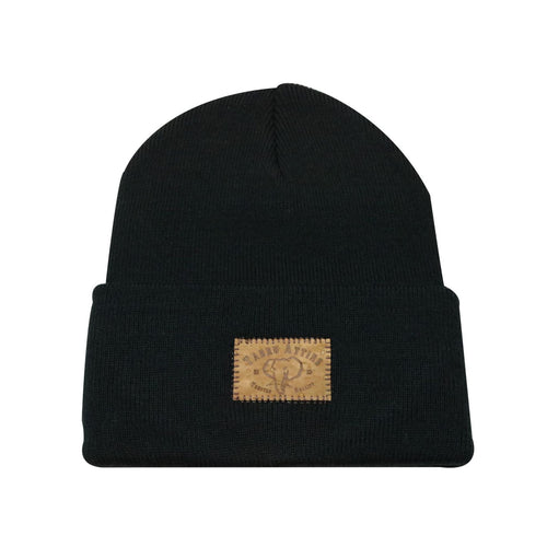 Beanie Elephant Cork Insert in Black