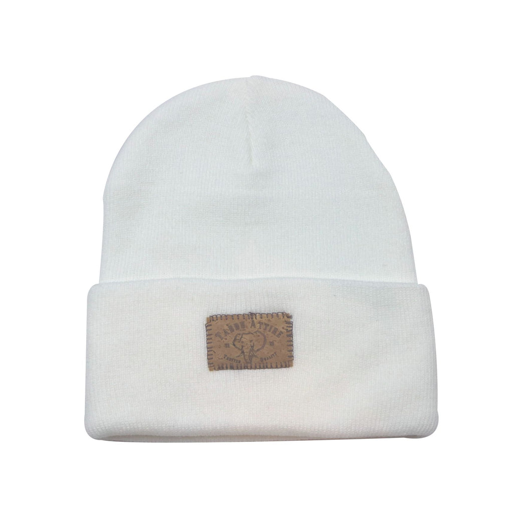 Beanie Elephant Cork Insert in White