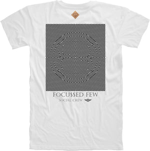 Focu$$ed Few Crewneck Tee in White