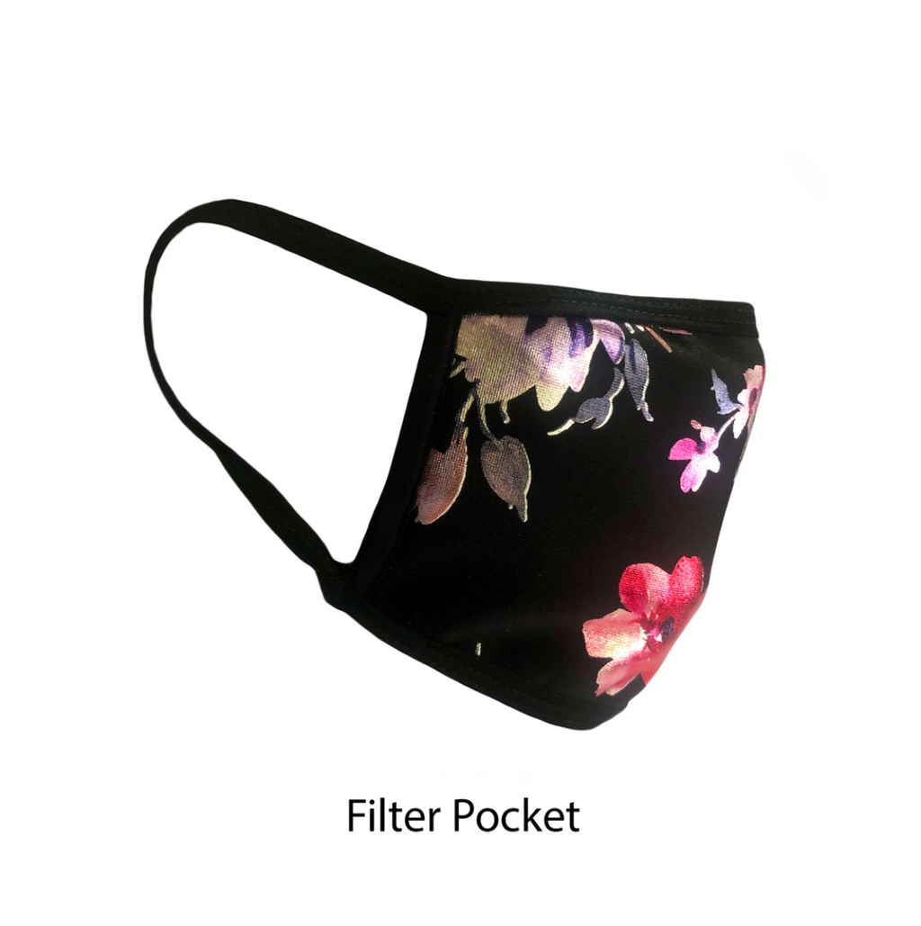.Flower Print Adjustable Strap