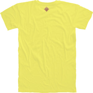 Peace of Mind Crewneck Tee in Yellow
