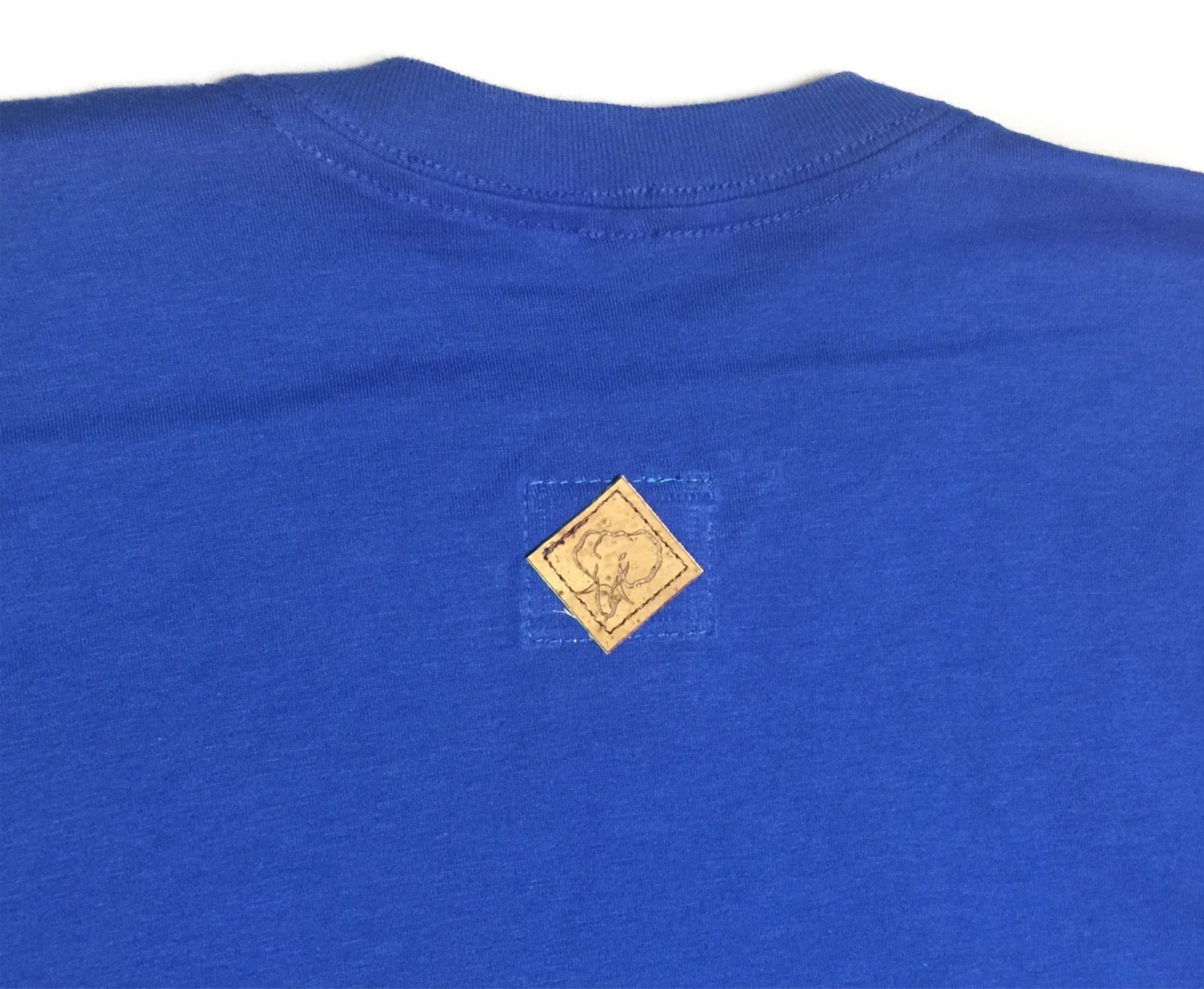 Peace of Mind Crewneck Tee in Royal