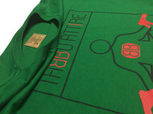 Load image into Gallery viewer, Peace of Mind Crewneck Tee in Green
