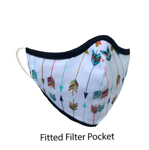 .Fitted Filter Pocket Arrow