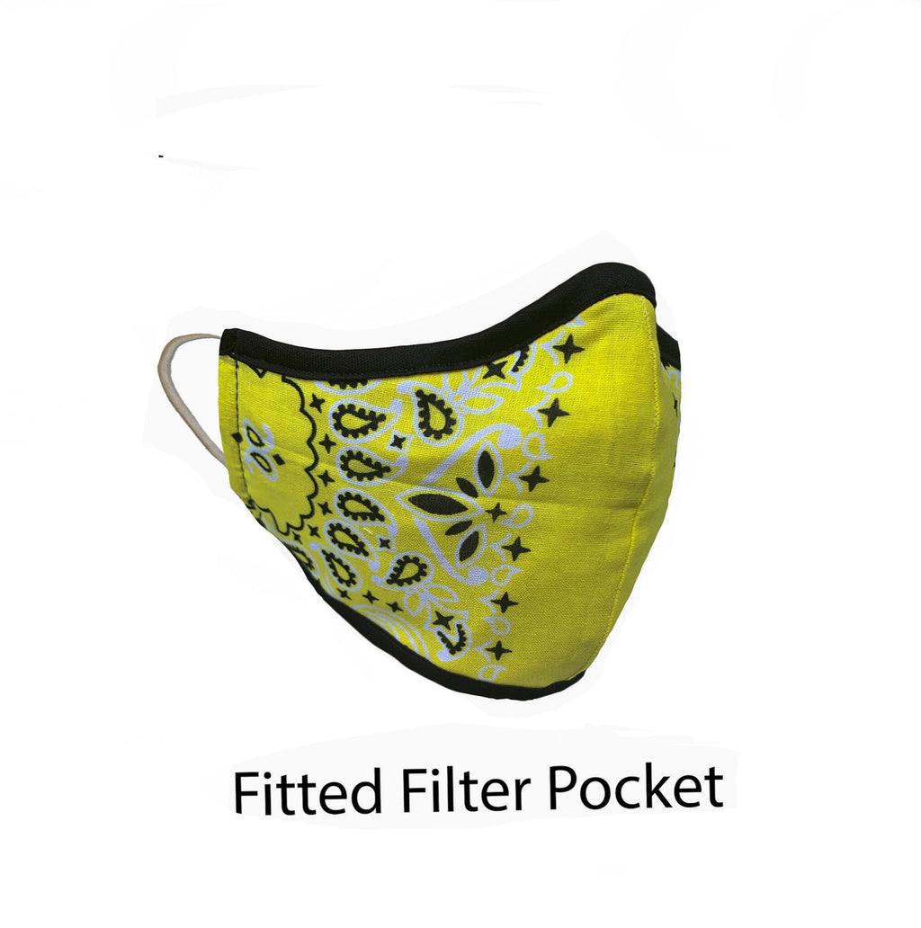 .Fitted Filter Pocket Yellow