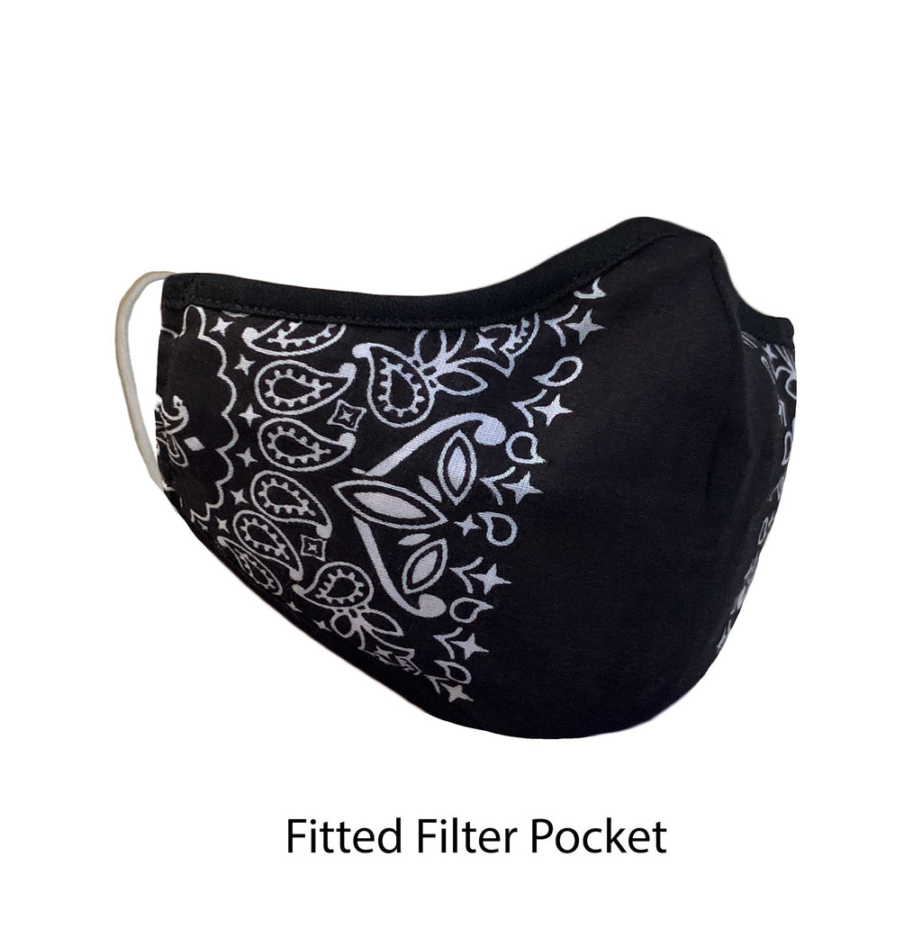 .Fitted Filter Pocket Black