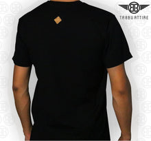 Load image into Gallery viewer, Trunk Insert Crewneck Tee in Black