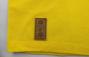 Proportion Crewneck Tee in Yellow