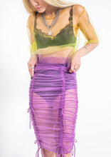 Load image into Gallery viewer, The Scrunch Skirt - Grape