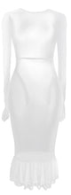 Load image into Gallery viewer, The Tulle Maxi Dress - White