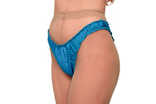 Load image into Gallery viewer, The Lovers Set - Electric Blue Satin Panty