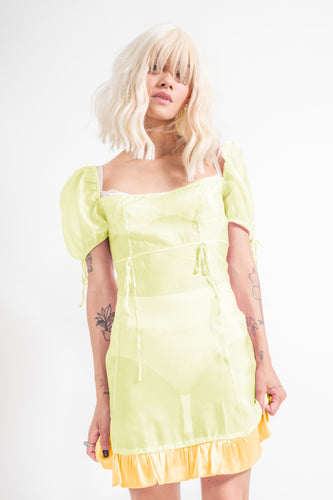 The Lulu Dress - Lemon