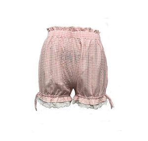 The Pink / White Gingham Peccora Bloomers