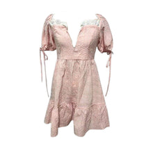 Load image into Gallery viewer, The Pink / White Gingham Moscow Dress