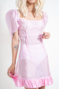 The Lulu Dress - Barbie Pink