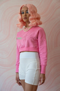 The Apryl Sweater - Hot Pink
