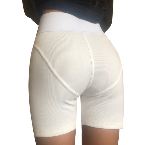 The White Boxer Short