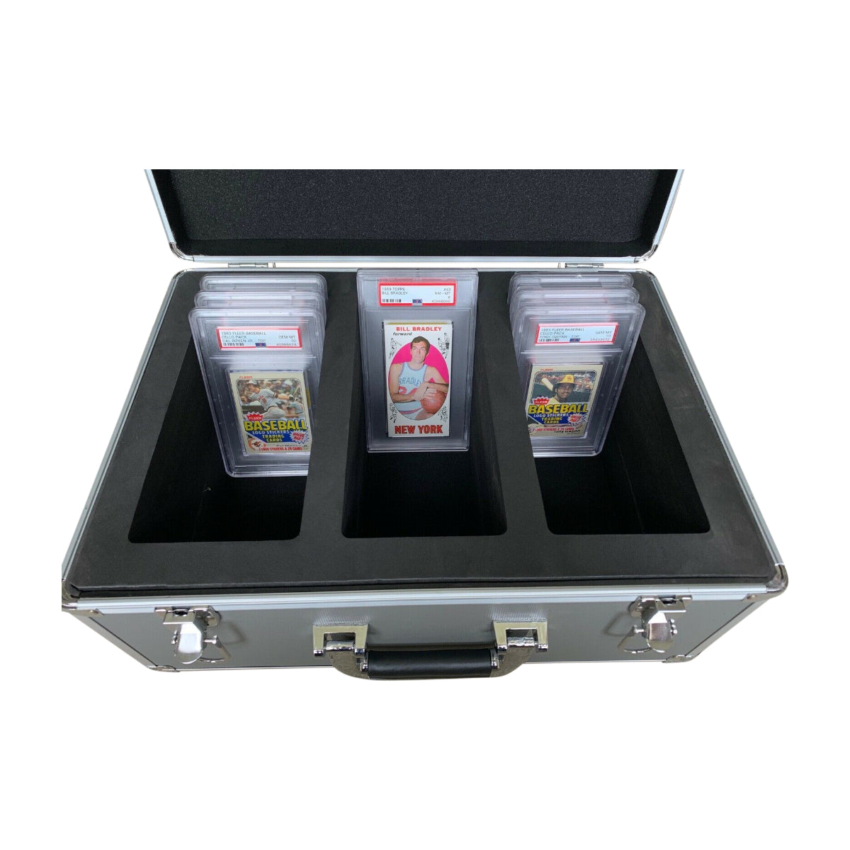 LARGE DELUXE Graded Card Storage Boxes PSA Only, Open