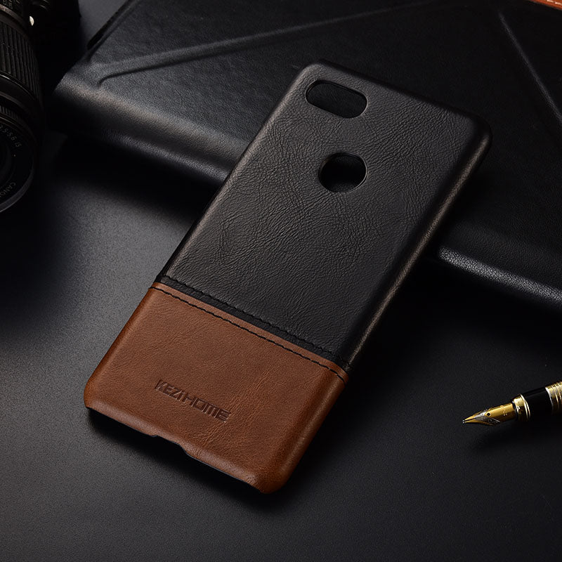 genuine leather case For google pixel 3 XL
