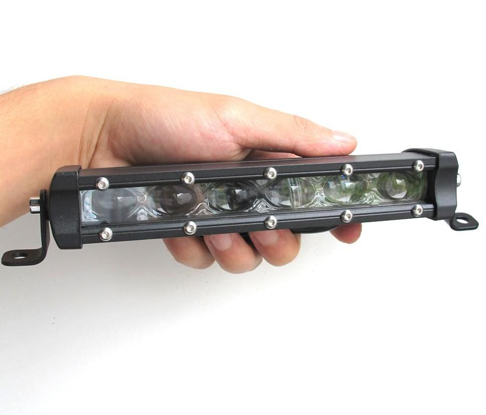"Super Slim 6D Lens Led Light Bar (8""-32"")"