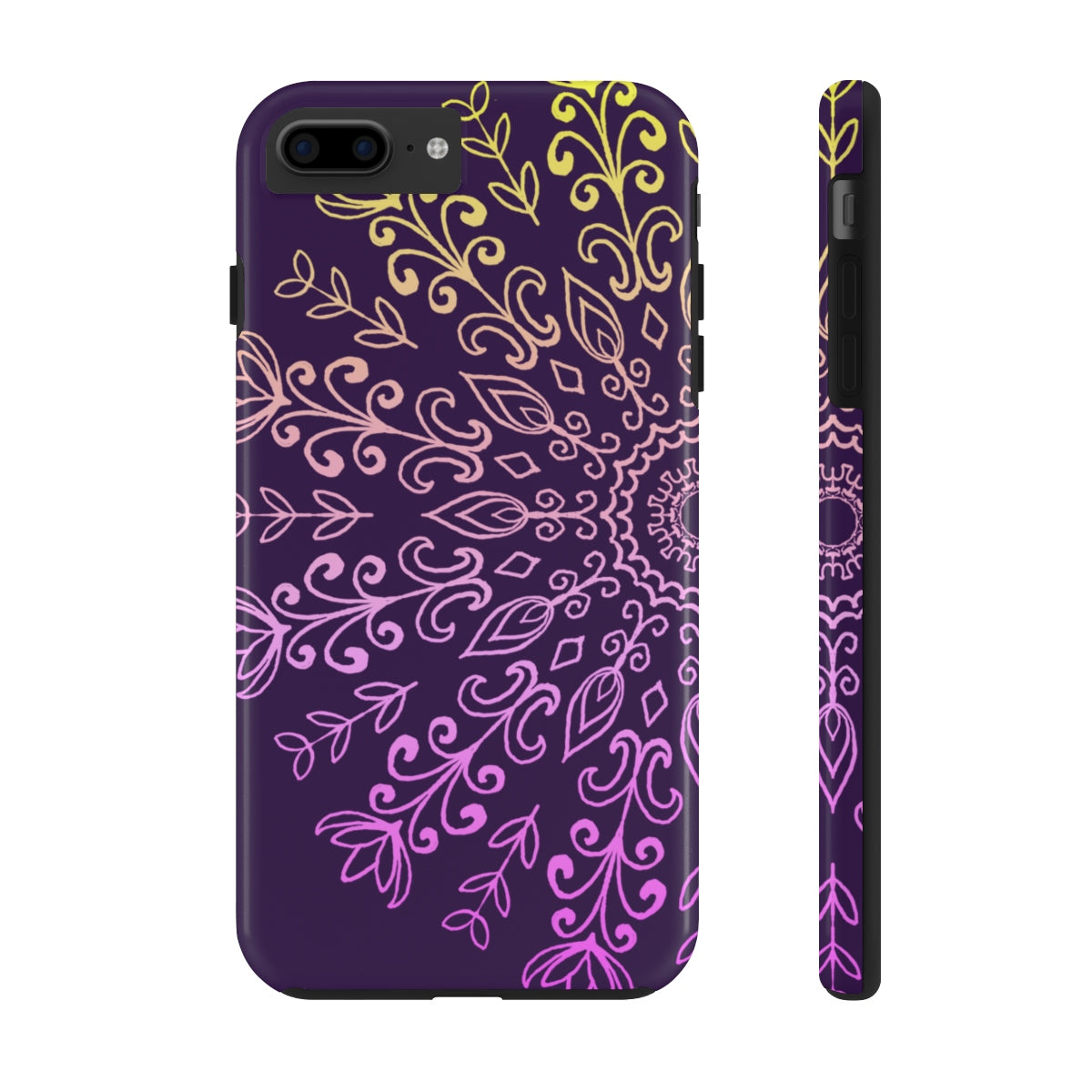 Flower Mandala Case Mate Tough Phone Cases