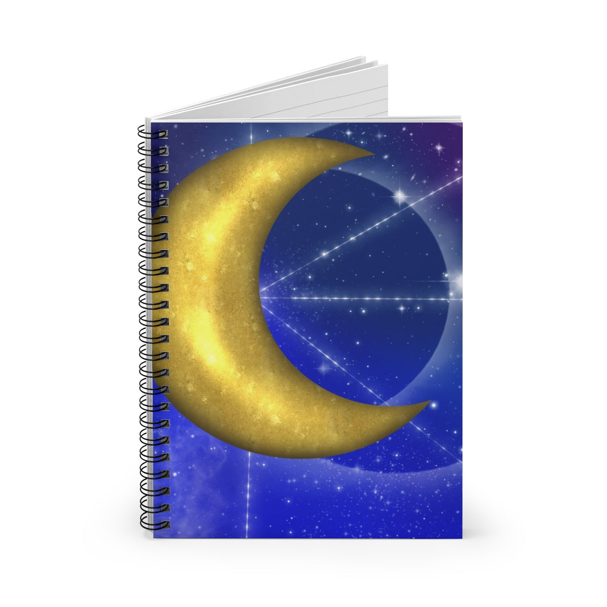 Moonpaths Spiral Notebook - Ruled Line