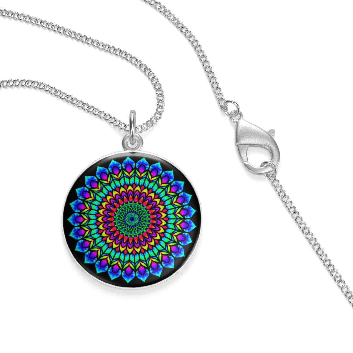 Rose Window Single Loop Necklace