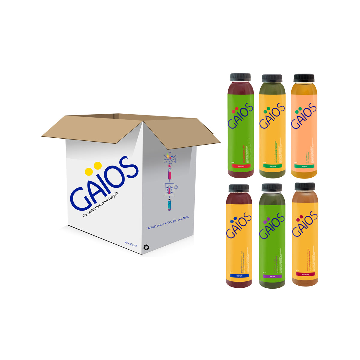 Pack de Jus – Réconfortant