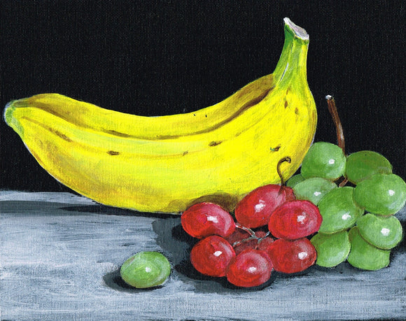 Bananas and Grapes