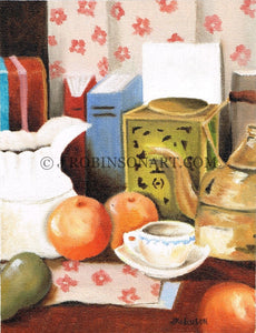 Fruits and Tea