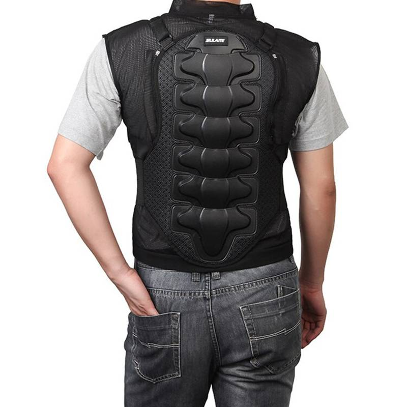 Motorcycle Body Armor Chest Vest Jacket - CTHOPER