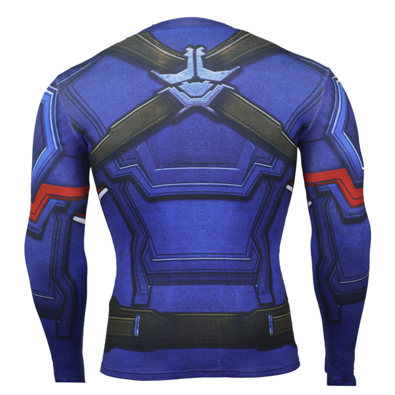 Men's 3D Printed Long Sleeve T Shirts - CTHOPER