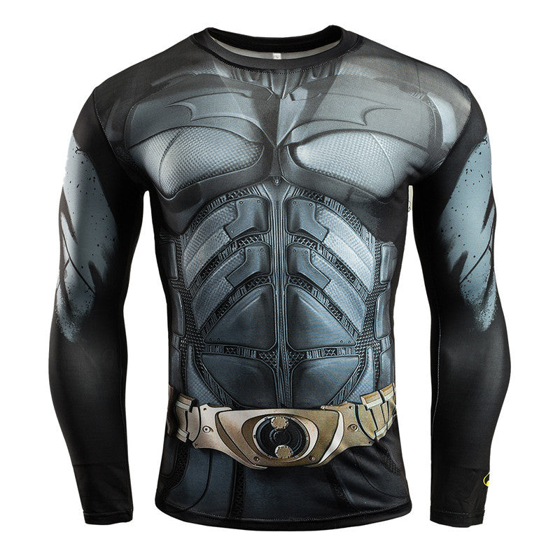 Men's Cosplay 3D Printed Long Sleeve T Shirts - CTHOPER