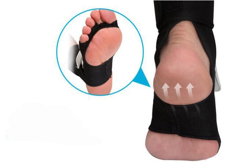 Children and Adult Foot Protector Gear Leather Feet Guard Ankle Suppor Protection MMA/Muay Thai/Boxing /MTB - CTHOPER