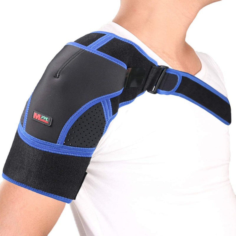 Adjustable Shoulder Support Brace,Rotator Cuff Support for Injury Prevention,Dislocated AC Joint,Frozen Shoulder Pain,Bursitis,Tendinitis (Left/Right) - CTHOPER