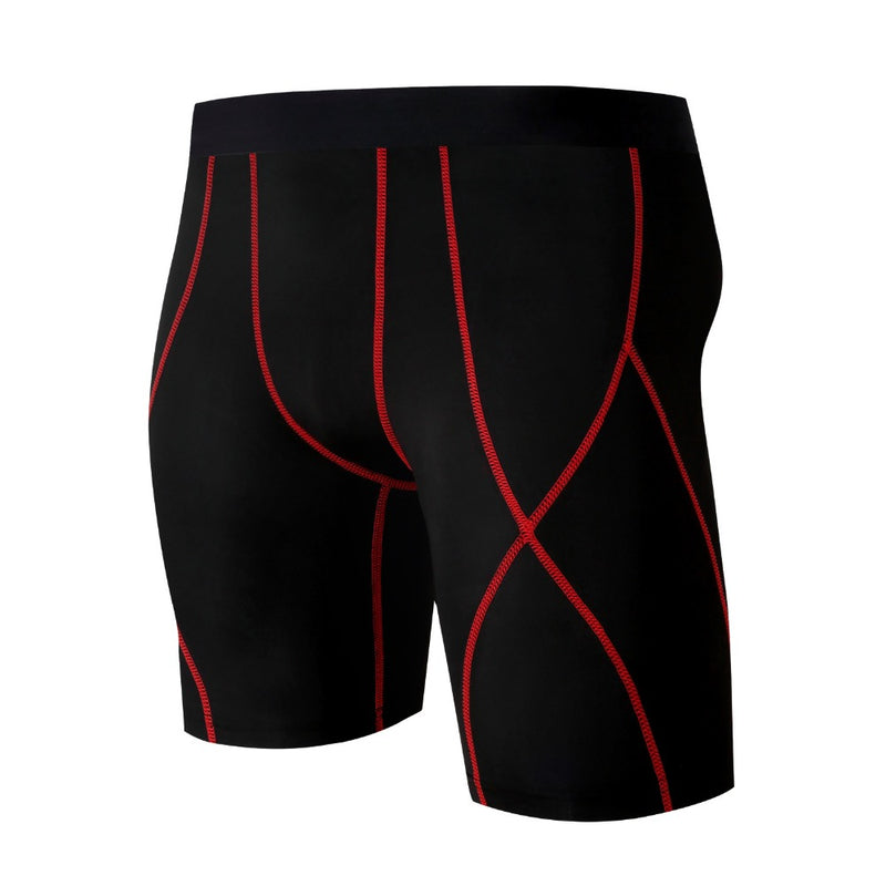 2019 New Men's Fitness Compression Fit Half Tight - CTHOPER