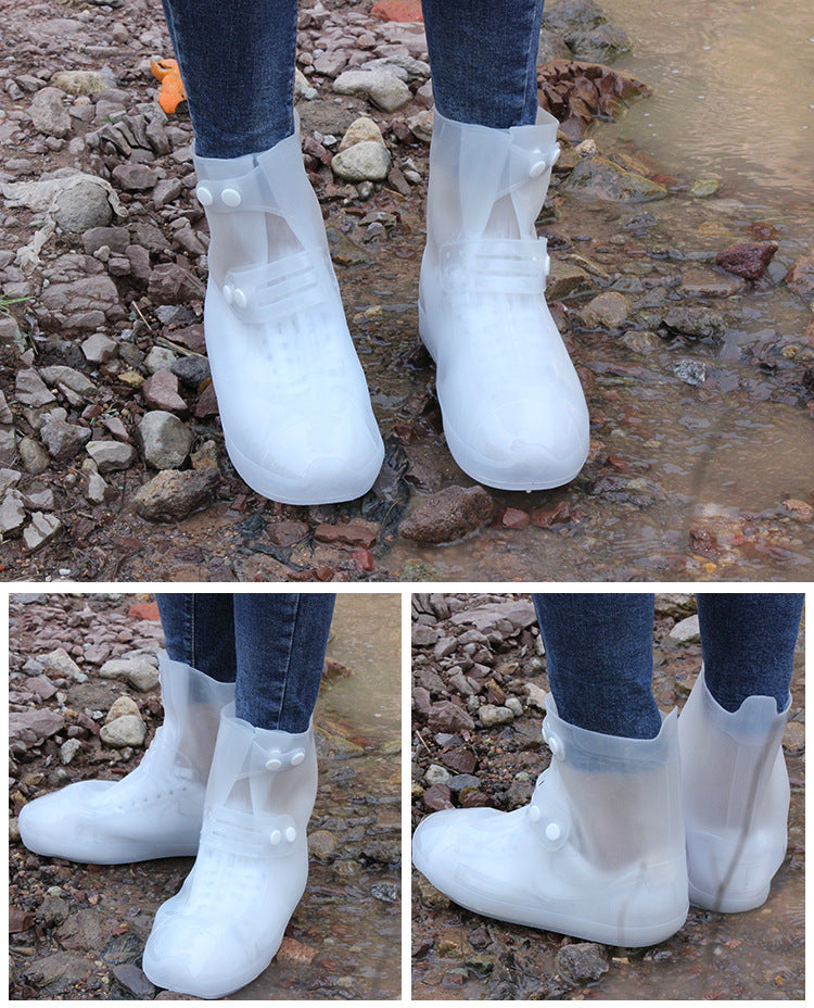 Rubber Waterproof Shoes / Boots Covers / Rain Overshoes - CTHOPER