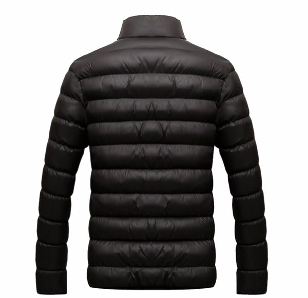 Men Winter Warm Slim Casual Windbreaker Quilted Jacket Coats