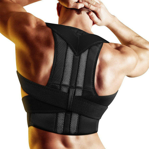 Adjustable Posture Corrector Back Support Shoulder Strong Brace Corset Back Belt