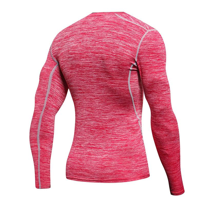 Men's Pro Running Long Sleeve Compression T-Shirts - CTHOPER
