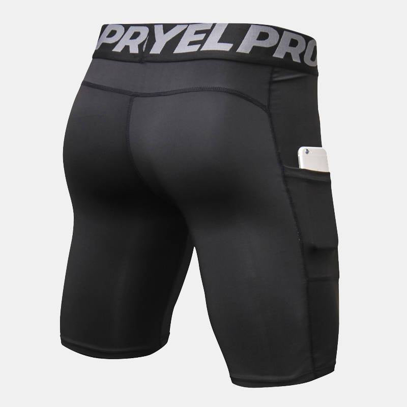 Men's Running Compression Shorts - CTHOPER
