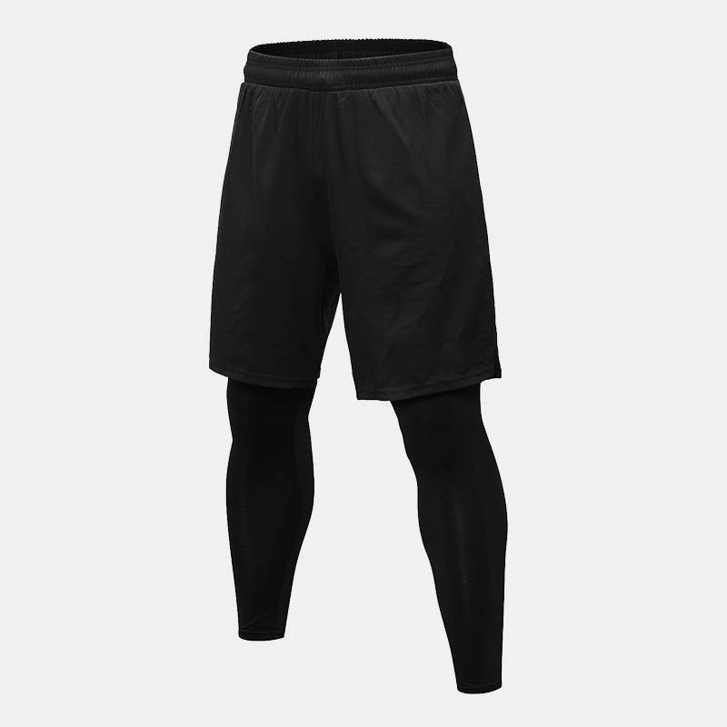 Men's Basketball 2 in 1 Shorts Pants - CTHOPER